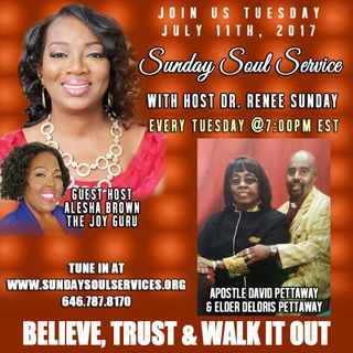 Sunday Soul Service Host Alesha Brown Spiritual Warfare Part-2