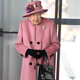 The Queen and the Walking Stick