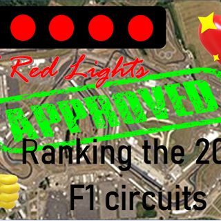 5 Red Lights - The 10 Best F1 2021 Circuits