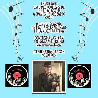 Michele Scarano, un italiano enamorado de la música latina