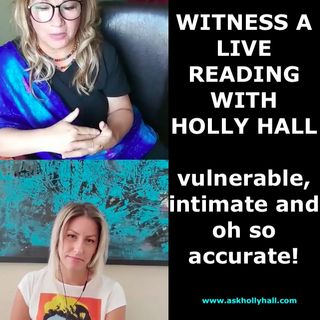 Live Reading from Clairvoyant Coach Holly Hall with Artist Merita
