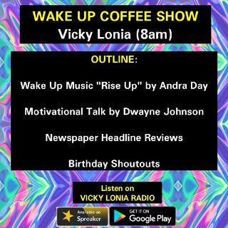 THE WAKE UP COFFEE SHOW (10/8/2018)