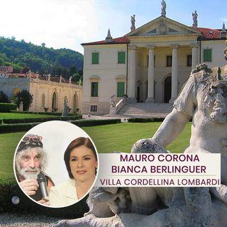 Mauro Corona e Bianca Berlinguer
