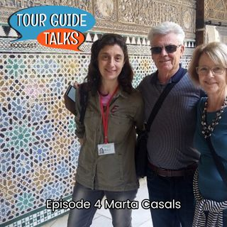 Ep. 4 Marta Casals talks about Sevilla and the rich history and culture in southern Spain.