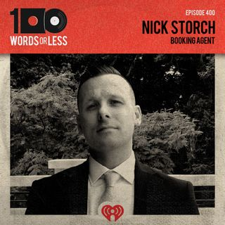 Nick Storch, booking agent