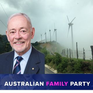 Bob Day AO, former senator on the Wind Farm Commissioner becoming the Energy Infrastructure Commissioner