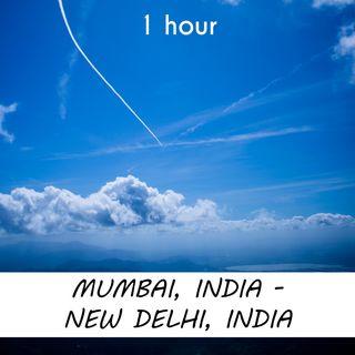 Mumbai - New Delhi | 1 hour AIRPLANE Sound Podcast | White Noise | ASMR sounds for deep Sleep | Relax | Meditation | Colicky
