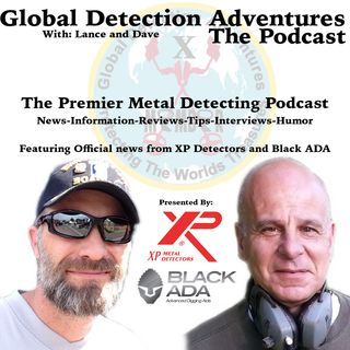 Episode 11 Laszlo Eles, Rebel Digger special guest Garry Blackwell from XP Detectors