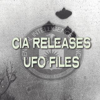 CIA Releases UFO Files Conspiracy Podcast