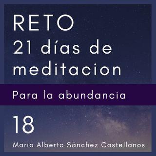 Día 18 del Reto de 21 Días de Meditación para la Abundancia
