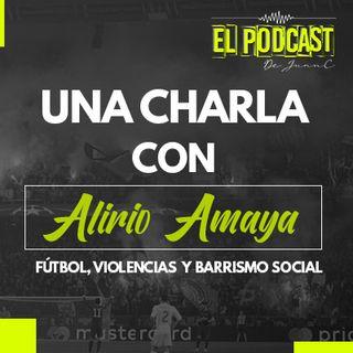 Una Charla Con Alirio Amaya Sobre: Fútbol, Violencias Y Barrismo Social