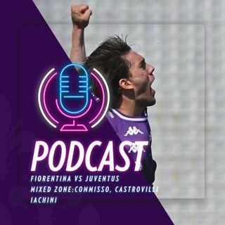 Matchday Fiorentina vs Juventus - I gol e le parole di Rocco Commisso, Gaetano Castrovilli, Beppe Iachini