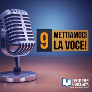 9 - Dalla conduzione radiofonica alla registrazione di audiolibri
