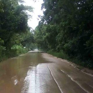 En Tabasco se desbordan ríos por desfogue de presa Peñitas