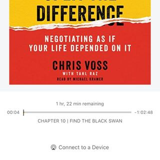 Hostage Negotiations (Parody of SAD by Rasster (Imanbek xxx Remix)): A 🎶 book report on Never Split The Difference by Chris Voss