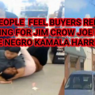 BLACK PEOPLE HAVE BUYERS REMORSE FOR VOTING FOR JOE BIDEN & KAMALA HARRIS
