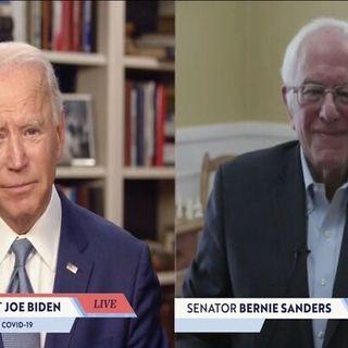 Bernie Endorses Biden; Biden-Trump Matchup Preview, and How COVID-19 Factors In