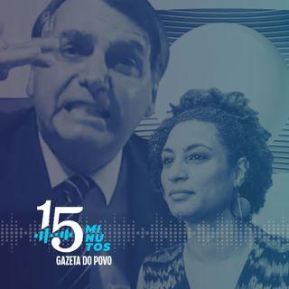O roteiro que envolveu Bolsonaro no morte de Marielle