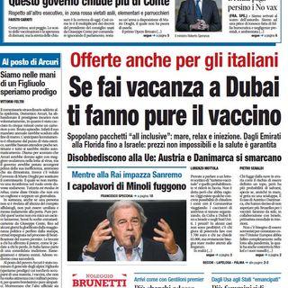 BUONGIORNO FORMALBA del 03.03.2021 con Marco Giustinelli