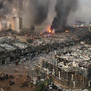 Asciende número de víctimas tras explosión en Beirut
