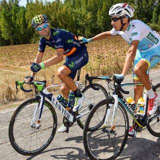 Alejandro Valverde, tras la 19ª etapa de la Vuelta