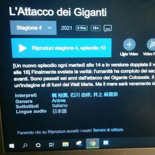 #Castenaso-Verona Attack On Titan 4: le opinioni di Casterona