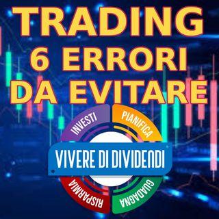 TRADING 6 ERRORI DA EVITARE - trading online etoro plus500 - etoro copytrader
