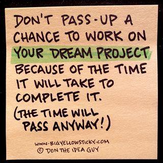 Dreams In Passing : BYS 338