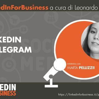 19-LinkedIn e Telegram - intervista a Marta Pellizzi