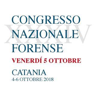 XXXIV Congresso Nazionale Forense - Venerdì 5 ottobre 2018 (14.00 - 18.00)