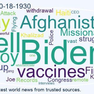 World News 2021-10-18-1930