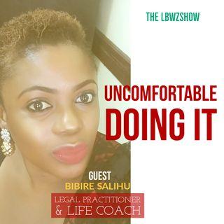 Uncomfortable doing it