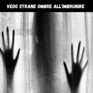 vedo STRANE OMBRE all'imbrunire | CreepyPasta 01