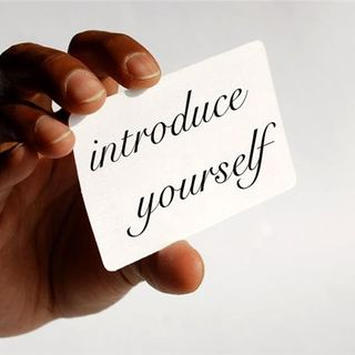 #49 | Introducing Yourself