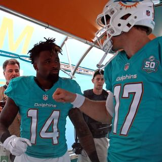Dolphins Talk Daily: Landry vs Tannehill and OTA tidbits