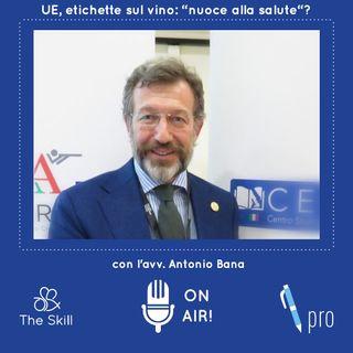 """Skill Pro - Anche sui vini italiani l'etichetta """"nuoce alla salute""""? - Analisi sul documento della UE a cura dell'avv. Antonio Bana"""