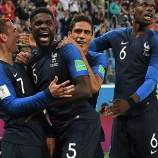 Gol Gol Gol: Francia venció 1 - 0 a Bélgica y es finalista del Mundial