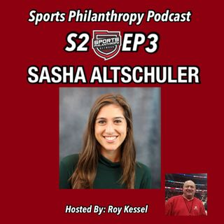 S2:EP3 Sasha Altschuler, The State of Corporate Social Responsibility in Sports