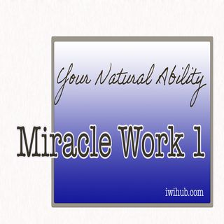 Your Natural Ability