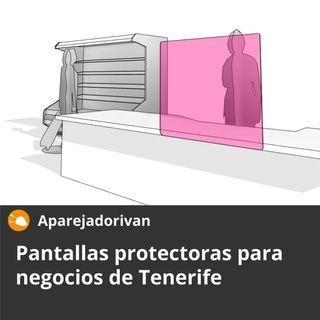 Pantallas protectoras para negocios en Tenerife