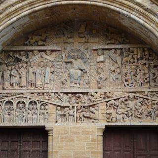 Café Bleu Monday ART Motivation - La chiesa di Sainte-Foy a Conques