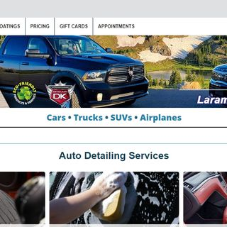 Auto Detailing Services - Auto Detailing Shop – Laramie, WY - We Detail: Cars, Trucks, SUVs and Airplanes