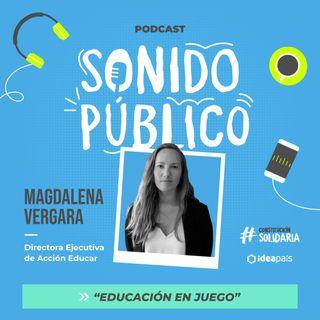 """Magdalena Vergara en """"Educación en juego"""""""