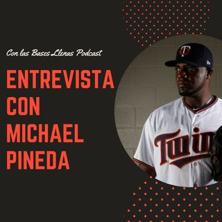 Michael Pineda de los Mellizos de Minnesota en entrevista exclusiva