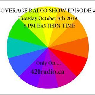 The Coverage Radio Show #145 - 10-08-19