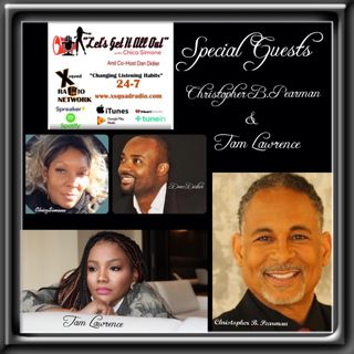 Author, Producer & Director, Christopher B. Pearman and Exposure On Demand/TV APP developer and CEO Tam Lawrence