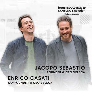 Ep.5 - Jacopo Sebastio ed Enrico Casati, co-founder di Velasca.