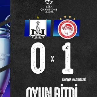 Neftçi 0-1 Olimpiakos | Overtime #22