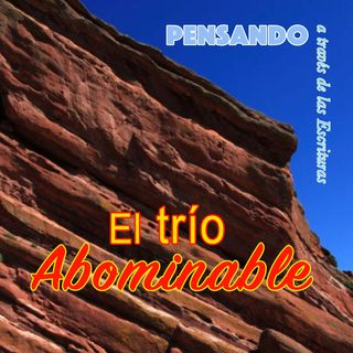 El trío abominable (PAE N.23)