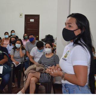 🗣️ Habla Melissa Tinoco Pinto, Líder de Planeación Educativa de la Secretaría de Educación Municipal de Soledad.